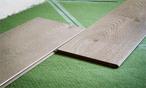 Хвойная подложка под ламинат на бетонный пол