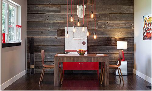 Методы укладки ламинированных панелей на стену кухни
