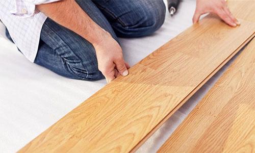 Некачественный материал ламината приводит к скрипу