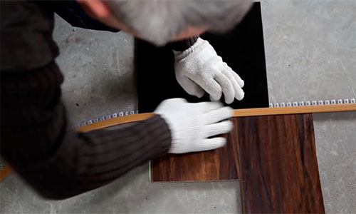 Монтаж гибкого профиля из металла