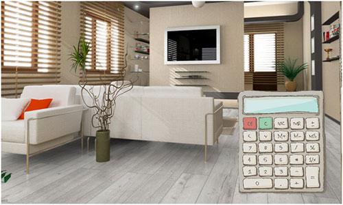 Основные принципы расчета количества ламината на комнату
