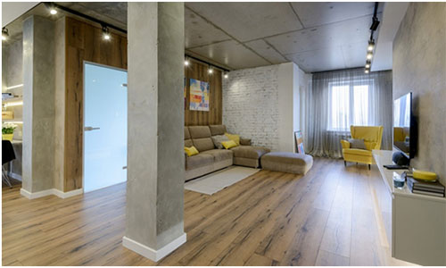 Расчет ламината для нестандартной формы комнаты
