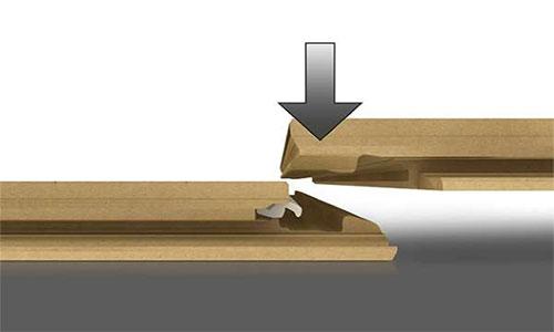 Система замков perfect fold для ламината pergo