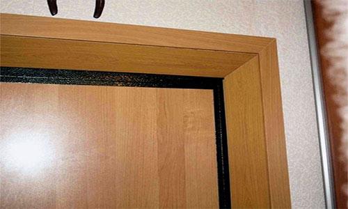 Откосы для двери из ламината