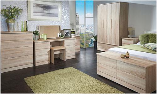 Предметы мебели из ламината