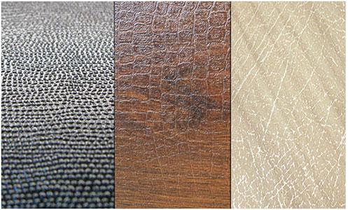 Разновидности ламинированного покрытия под кожу