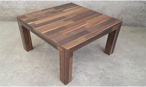 Журнальный столик из остатков ламината