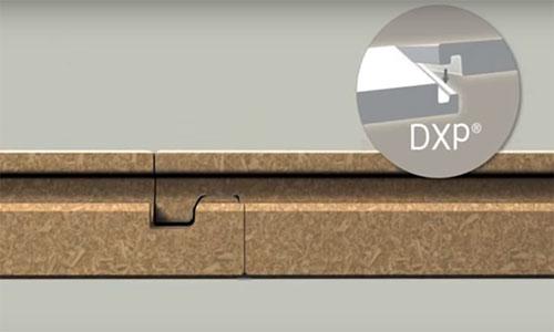 Замковая система для ламината DropXPress