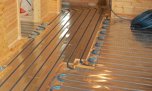 Электрические теплые полы для деревянного пола
